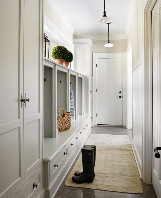 Laundry Room Color Palette: No.201 Shaded White - PALETTE PAINT AND HOME